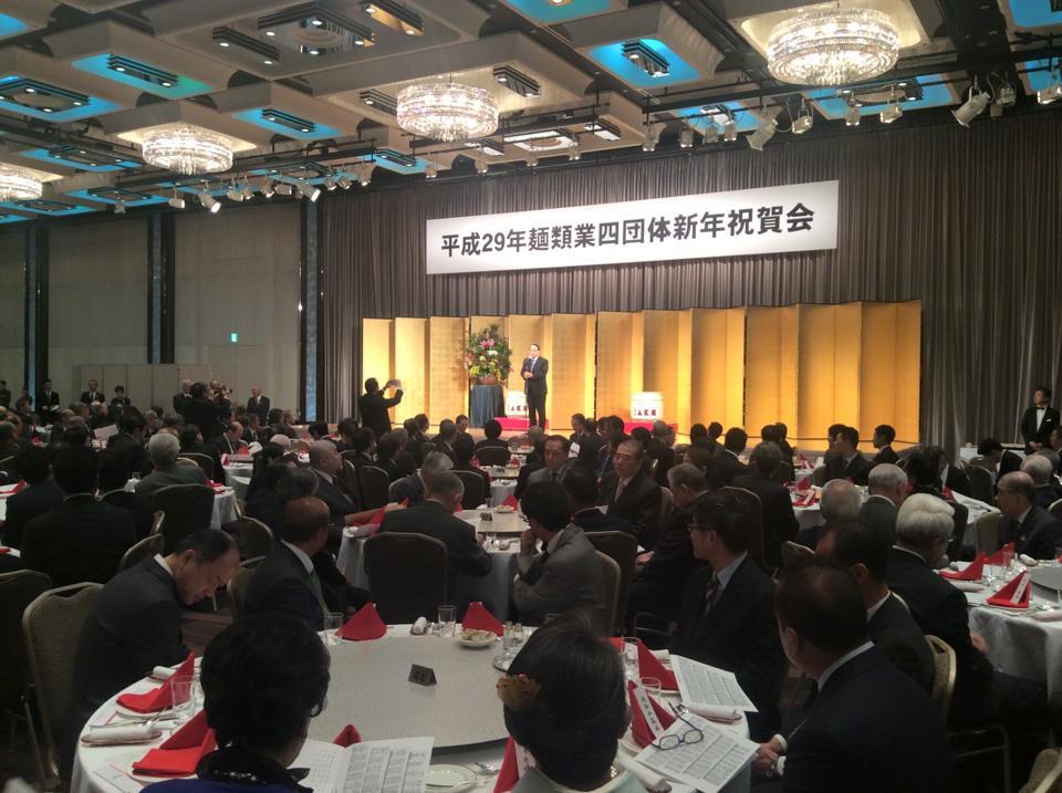 290111 麺類業四団体新年祝賀会