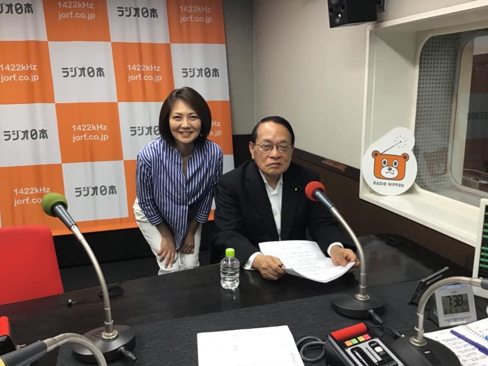 300815 ラジオ日本 岩瀬恵子