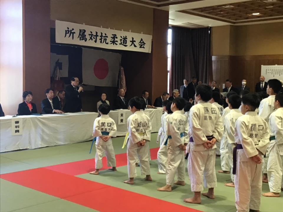310324  葛飾柔道会開会式