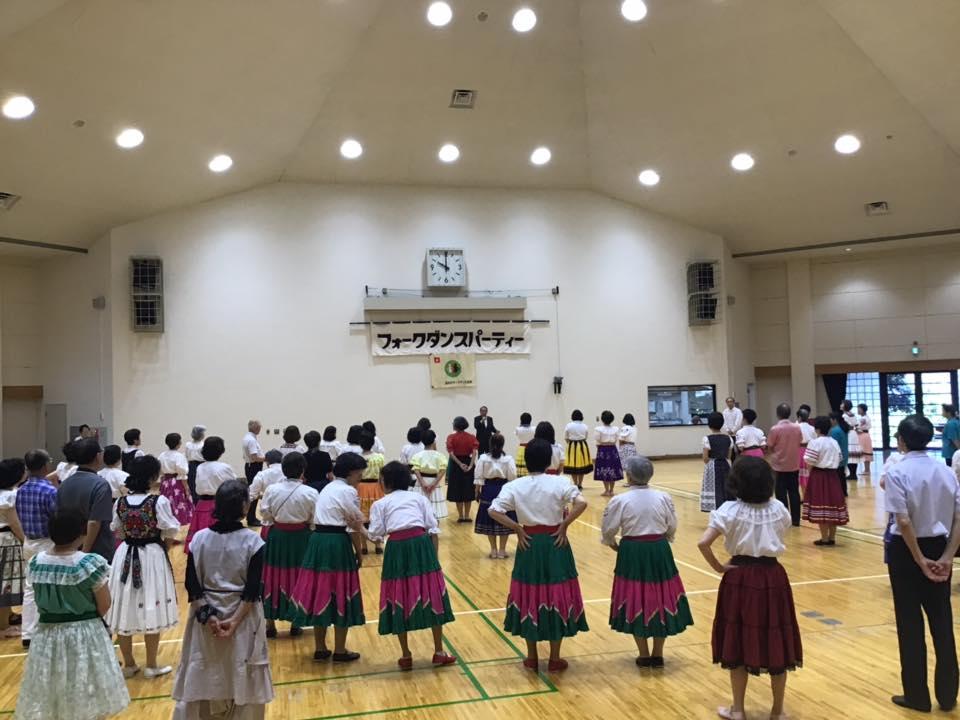 310616葛飾区フォークダンス大会