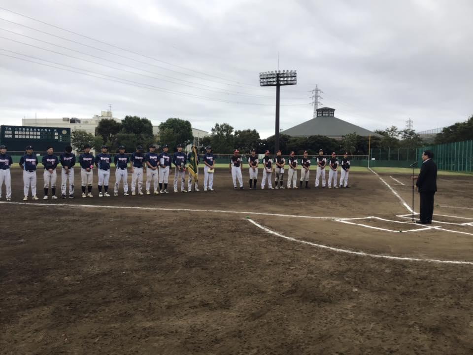 010922 葛飾区軟式野球連盟 表彰式・閉会式